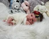 Reborn Babies - Custom Reborn Baby - Realborn®Clyde 18 inches 3/4 arms Full legs 4-6 lbs  Custom .Custom Reborn Baby Doll. Vinyl.