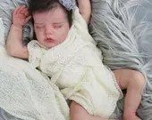 FREE Baby w/ Diamond Package - Custom Reborn Babies - Twin B by Bonnie Brown 17 inches  3-4 lbs