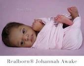 "CuStOm ReBoRn Realborn® Johannah Awake (19""+Full Limbs)"