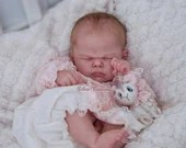 Custom Reborn Babies - Bluebell By Cassie Brace 22 inches FULL limbs 6-8 lbs Reborn Baby