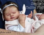 CUSTOM ORDER/Made To Order Reborn Doll Baby Girl or boy Zoelle By Talita Pinheiro 17 inches  4-6  lbs Full Limbs (Reborn Babies)