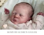 """FREE Bonus Baby!  **Read Item Details** CuStOm ReBoRn BaBy Romy By Gudrun Legler (19""""+Full Limbs)"""