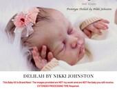 """CuStOm ReBoRn Delilah by Nikki Johnston (18""""+Full Limbs)"""