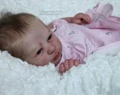 Custom Reborn Babies - Realborn® Aria Awake 17 inches Full limbs  4-6 lbs