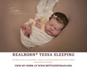 "CuStOm ReBoRn Realborn® Tessa Sleeping (19 1/2""+Full Limbs)"