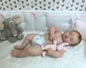 Reborn Babies - Custom Reborn Baby - Realborn®7 Month June Asleep 25 inches Full Limbs 4-6 lbs  Custom .Custom Reborn Baby Doll. Vinyl.