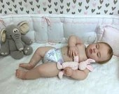 SPECIAL OFFER! Buy One Get One 25% Off! Custom Reborn Babies - Realborn®7 Month June Asleep 25 inches Full Limbs 4-6 lbs