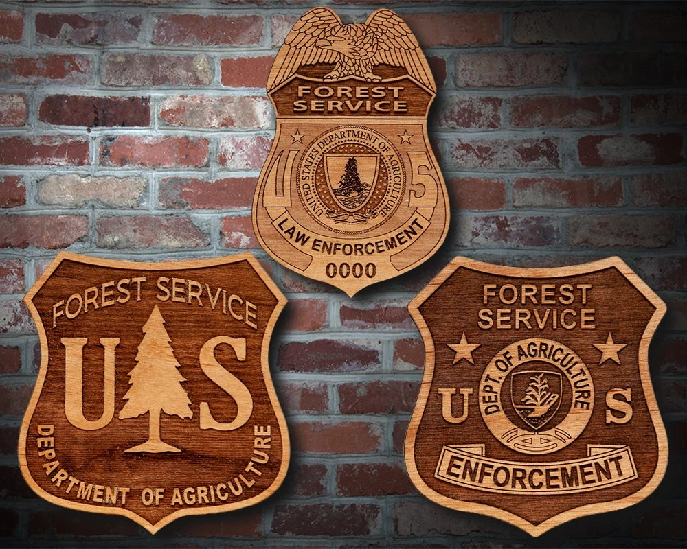 Forest service could force journalists to pay for a permit in order to shoot photos and videos on its land. Usda Forest Service Badge Or Patch Plaque Etsy