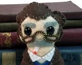 Kurt Vonnegut plushie (made to order)