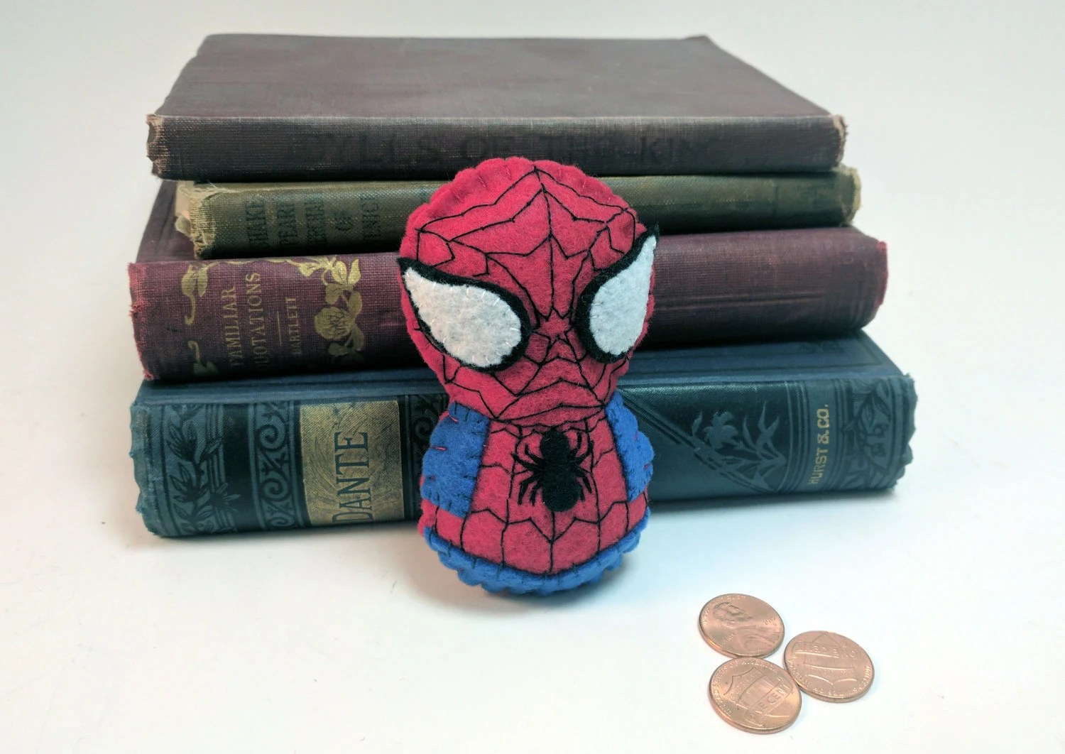 Spider Man plushie (made ...