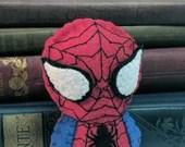 Spider Man plushie (made to order)