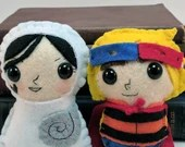 Ben and Saoirse - Song of the Sea plushies (made to order)