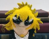 David Bowie / Jareth the Goblin King - Labyrinth plushie (made to order)