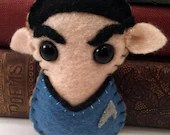 Commander Spock - Star Trek plushie (made to order)