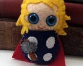 Thor plushie (made to order)
