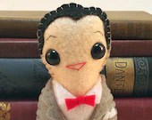 Pee Wee Herman plushie (made to order)