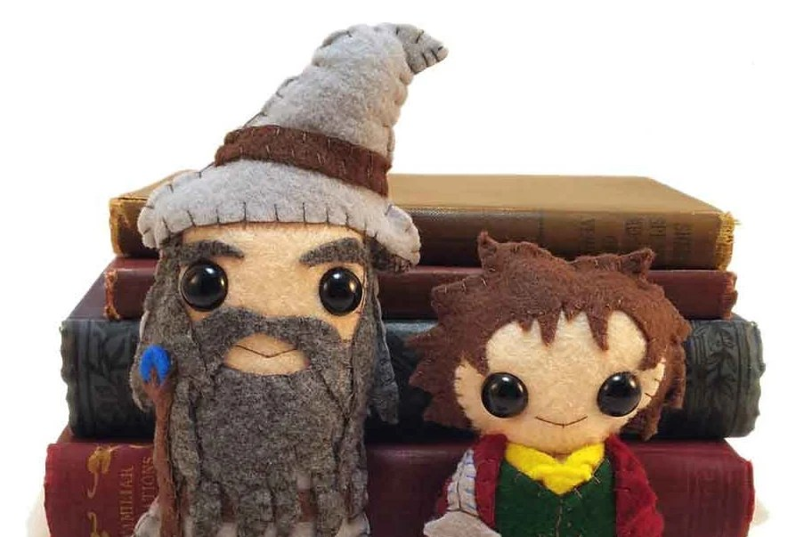 Bilbo and Gandalf plushie...