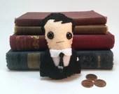 Jim Moriarty - Sherlock plushie (made to order)