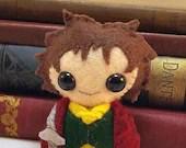 Bilbo plushie (made to order)