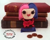 Molly Carpenter - Dresden Files plushie (made to order)