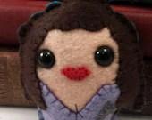 Deanna Troi - Star Trek TNG plushie (made to order)