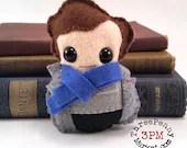 Sherlock Holmes plushie (made to order)