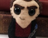 9th Doctor - Christopher Eccleston - Dr Who plushie (made to order)