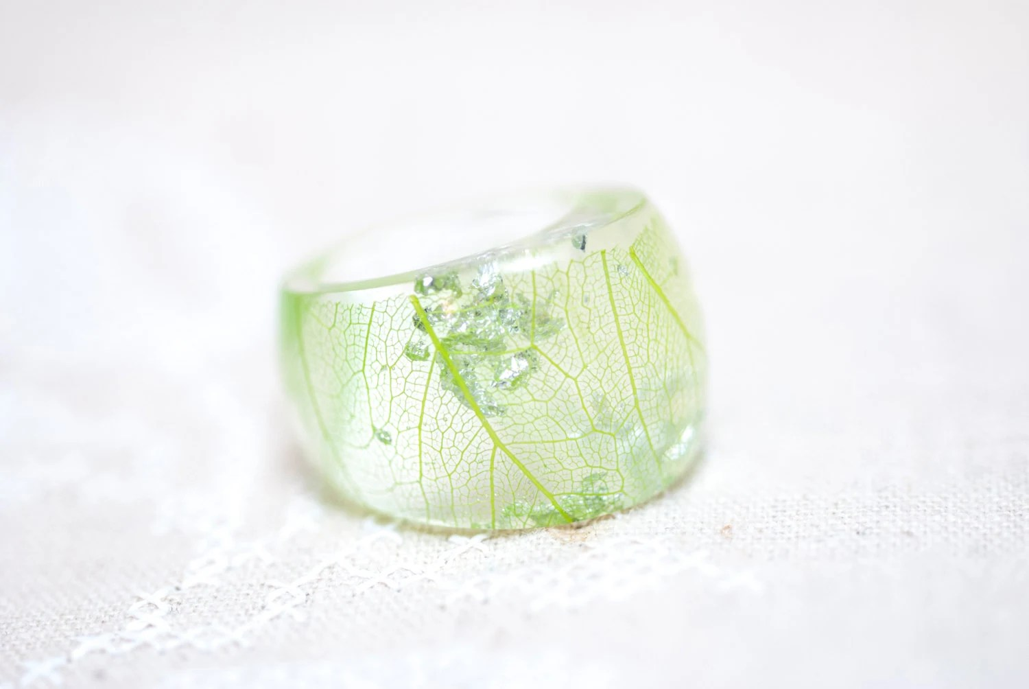 Ring Jewelry Resin With Green Skeleton Worksheet With
