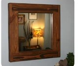 Wooden wall mirror, eco f...