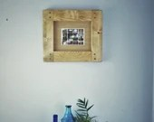 wooden picture & photo frame 10 X 8, inch image, high quality crafted thick wood frame, landscape, custom handmade modern rustic Somerset UK