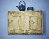 wooden kitchen wall cabin...