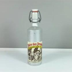 Vintage Aluminium Beer Bottle La Biere Des Etsy