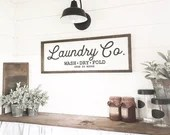 Laundry Co Fixer Upper Inspired Sign