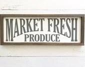 Market Fresh Produce Fixer Upper Sign
