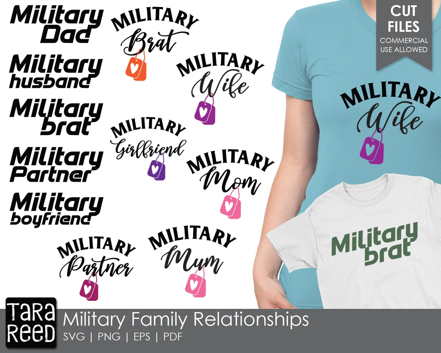 Military Family Relationships Military Svg And Cut Files