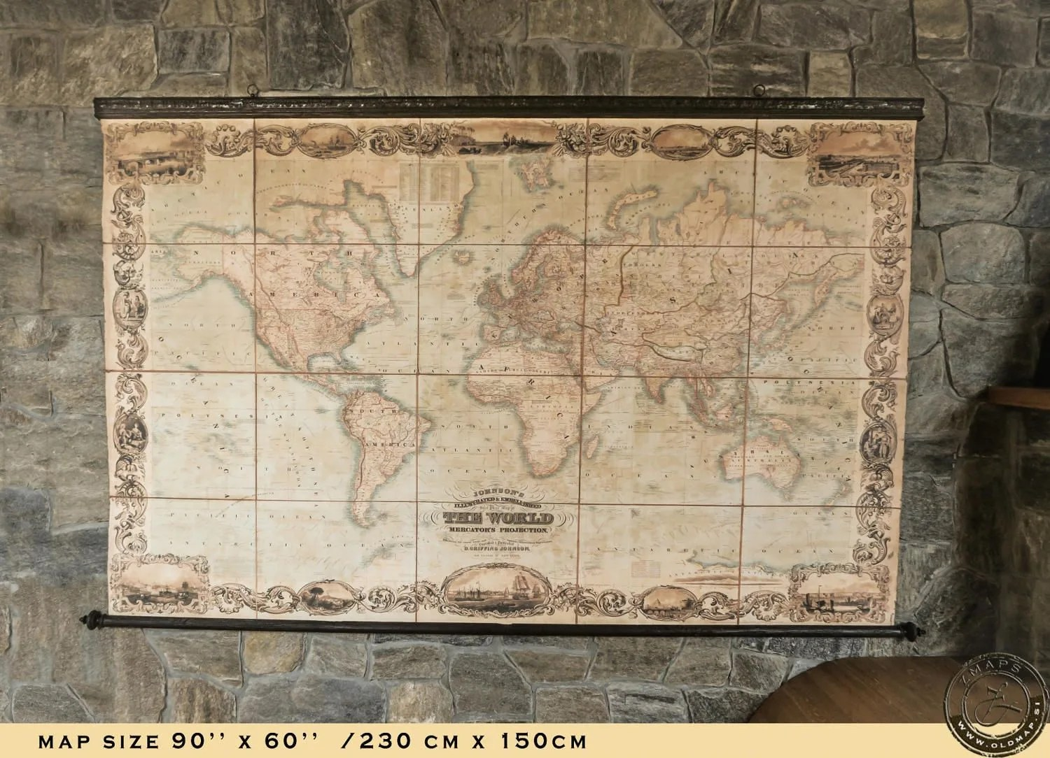 Amazing world map 1800 90   x 60   230 x