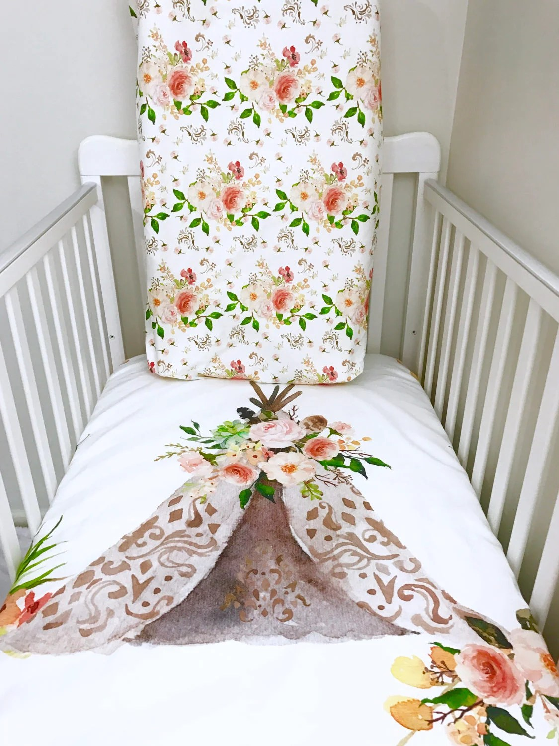 Little Oasis Crib Sheets Give A Nursery Classic Style Our