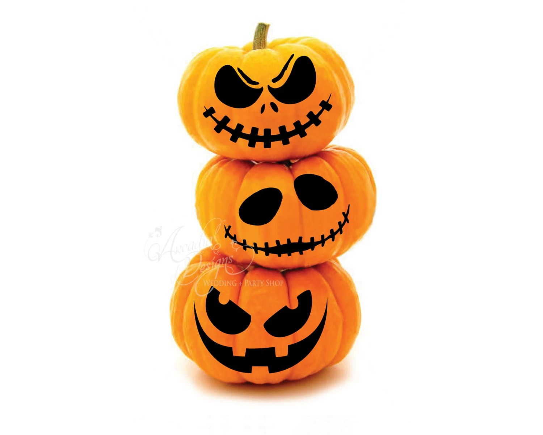 Printable Halloween Pumpkin Carving Pattern Stencil