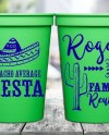 16oz Custom Stadium Cup Plastic Cup Event Give Away Fiesta Etsy