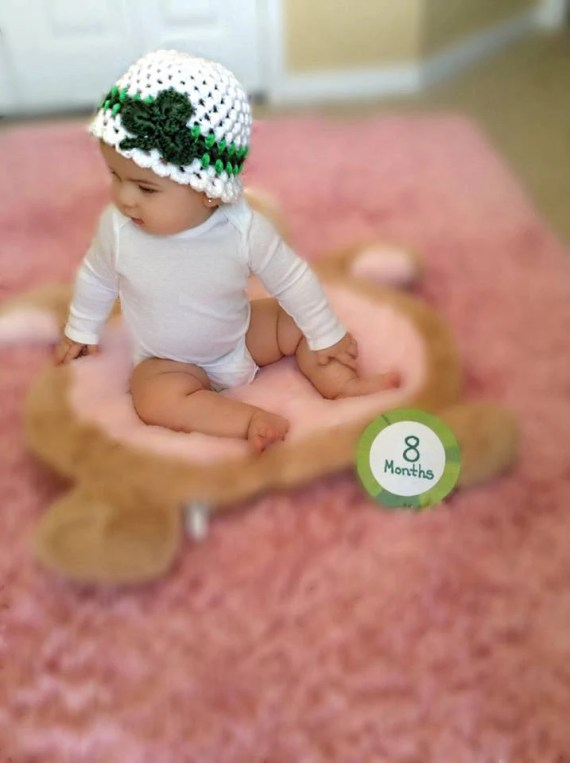 St. Paddy's Crochet Hat for Baby