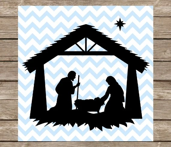 Download Nativity svg Christmas svg Nativity Scene svg Nativity | Etsy