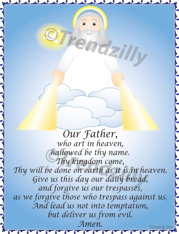 Soft Saint Prayer Card Set 1 Kids Prayer Cards Prayer