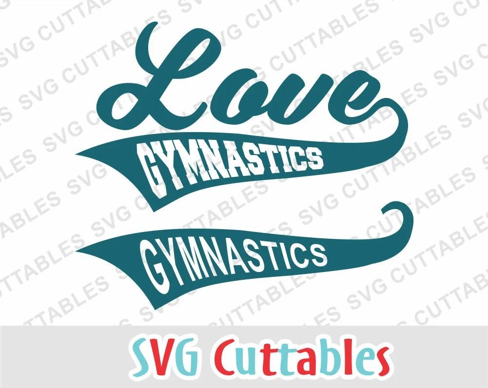 Download Gymnastics svg gymnastics cut file Love Gymnastics svg