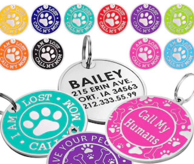 Dog Tag Personalized Dog Tag Custom Dog Tag Dog Id Tag Engraved Dog Tag