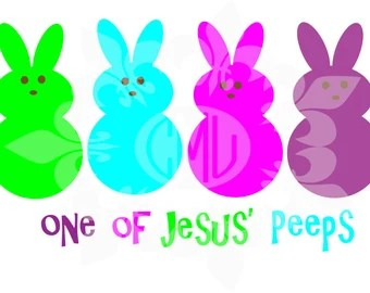 Download Just chillin with my peeps svg dxf eps & png cutting file ...