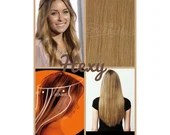 """22"""" long HALO flip in HEXY Medium/dark dirty blonde #18 human remy secret invisible miracle wire hair extensions damage free bespoke circle"""