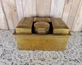Unusual Heavy Brass Warmer with 4 Removable Compartments Rice Noodles Hand