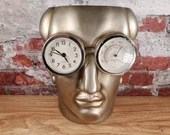Oscar Wilde Punctuality is the Thief of Time Sculpture Clock Museum of Mod Life