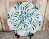Lilien Porzellan Porcelain Austria Hand Painted Art Plate Platter