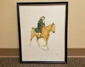 1901 Cecil Aldin The Doctor Chromolithograph Framed Print